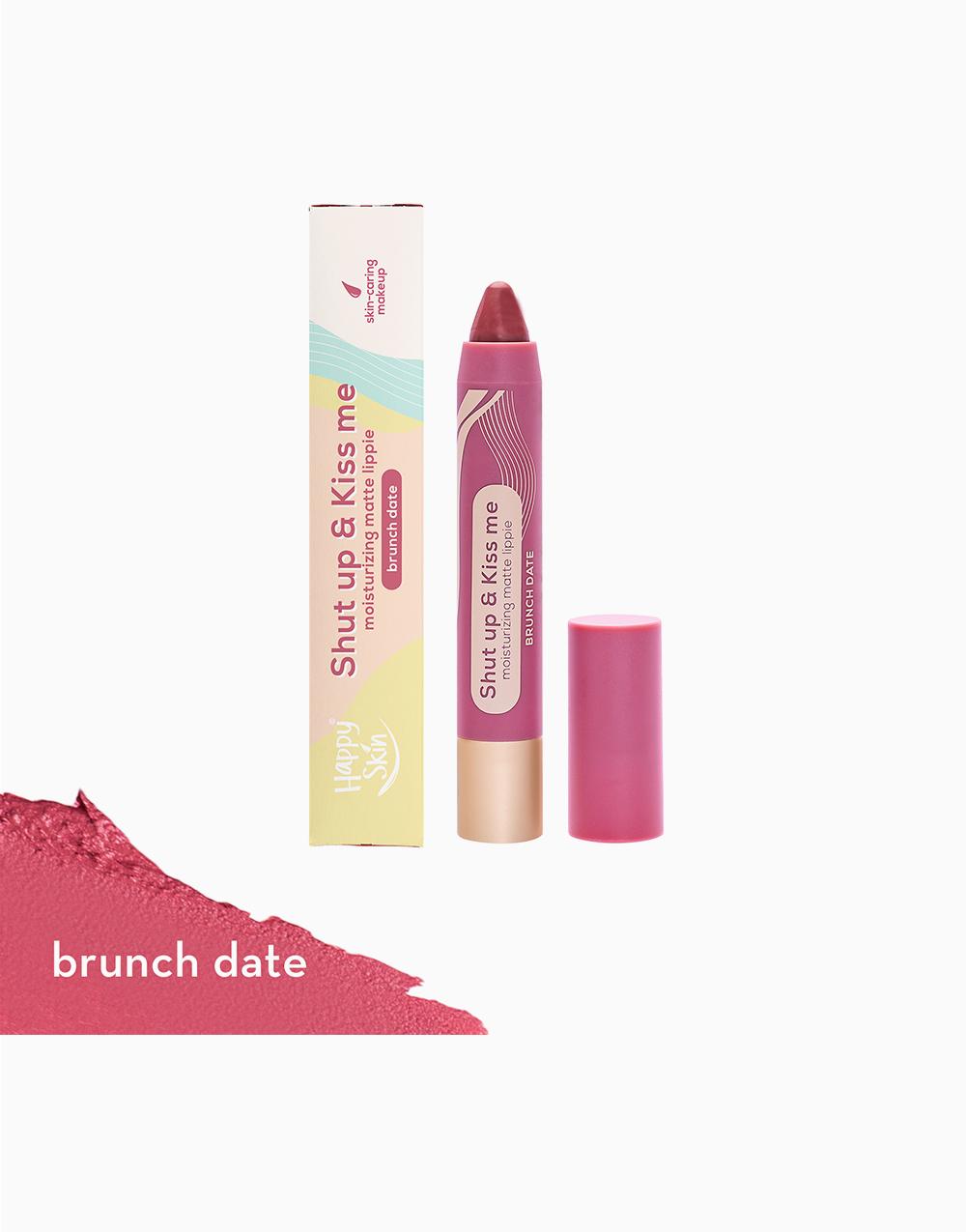 Shut Up & Kiss me Moisturizing Matte Lippie by Happy Skin   Brunch Date