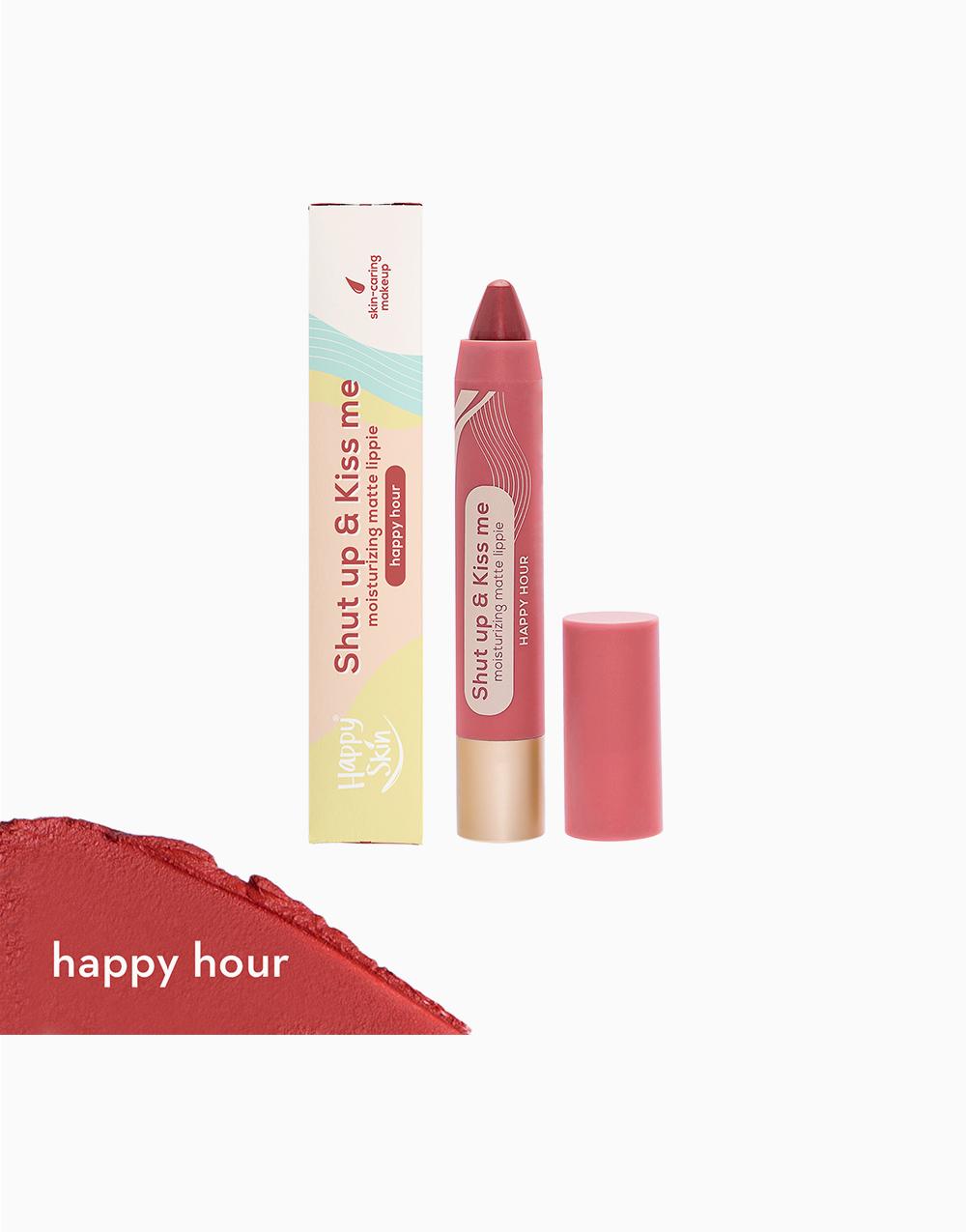 Shut Up & Kiss me Moisturizing Matte Lippie by Happy Skin   Happy Hour