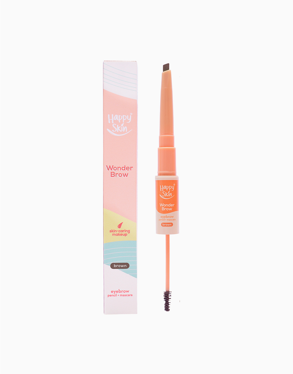 Wonder Brow Eyebrow Pencil + Mascara by Happy Skin | Brown