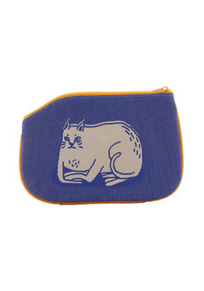No Business Cat Coin Purse by Artwork