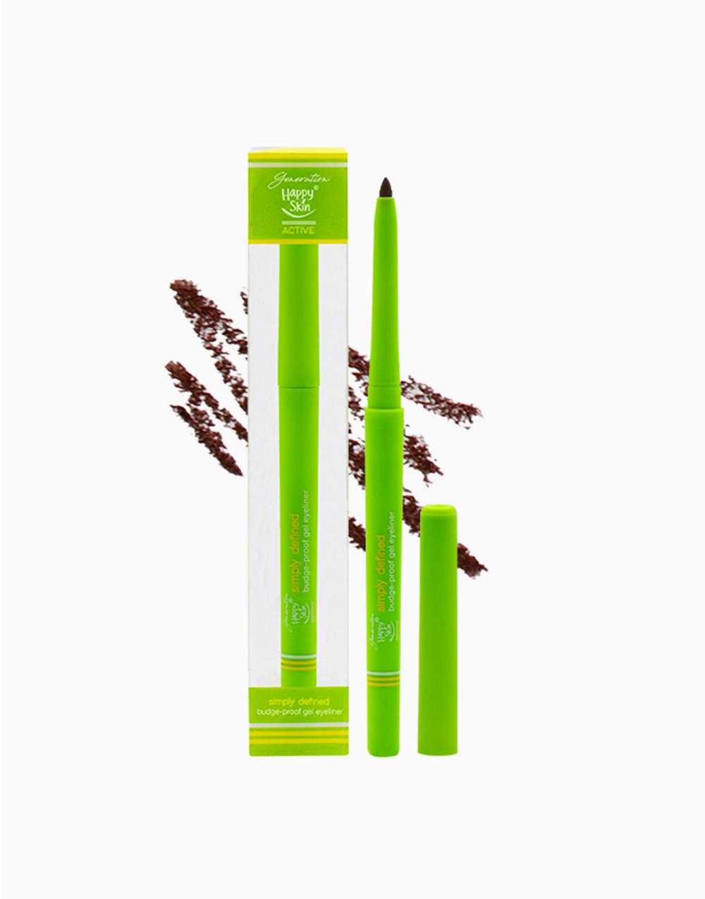 Simply Defined Budge-proof Gel Liner Pen by Happy Skin | Dark Brown