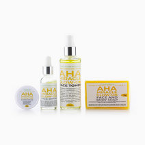 AHA Miracle Glow-On Face Set by YVI Skin Care Products