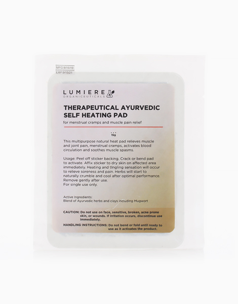 Therapeutical Ayurvedic Self Heating Pad by Lumiere Organiceuticals