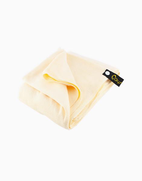 Dry n' Lite Microfiber Body Towel by Dry N' Lite Microfiber | Cream