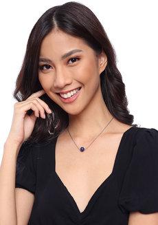 Lapis Lazuli Dainty Gemstone Necklace 2.0 by Made By KCA