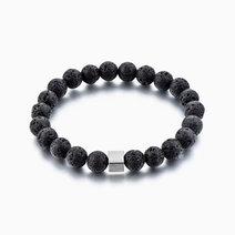 Calm Lavastone Diffuser Bracelet by Stones for the Soul