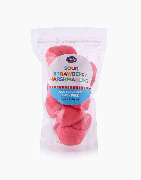 Strawberry Marshmallows (130g) by Candy Corner