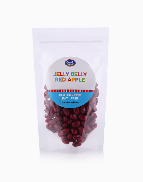 Jelly Belly Red Apple (200g) by Candy Corner