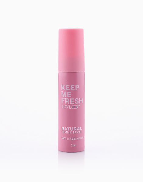 Anti-Bacterial Femme Spray with Rose Water by LuvLoob