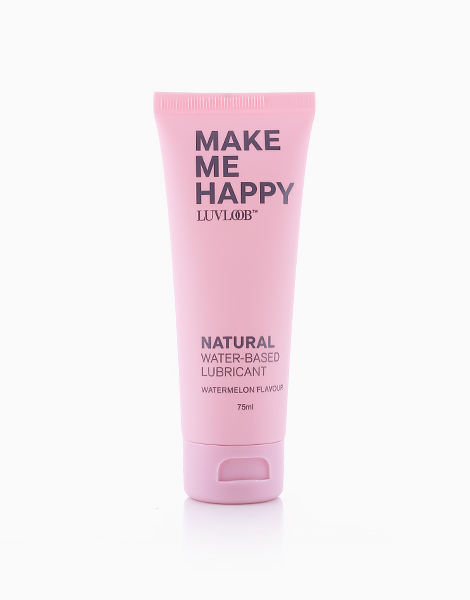 Natural Water-Based Lubricant in Watermelon Flavour (75ml) by LuvLoob