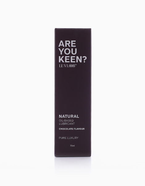 Natural Oil-Based Lubricant in Chocolate Flavour (75ml) by LuvLoob