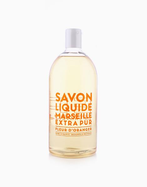 Extra Pur Marseille Liquid Soap (1L) by Compagnie De Provence | Orange Blossom