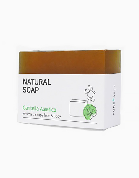 Centella Asiatica Natural Soap for Face and Body by Pureforet