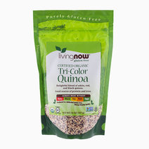 Certified Organic Tri-Color Quinoa by Living Now Foods
