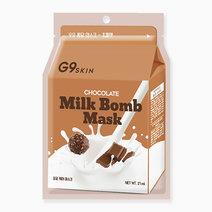G9skin milk bomb mask   chocolate