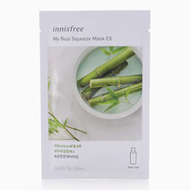 My Real Squeeze Bamboo Mask EX by Innisfree