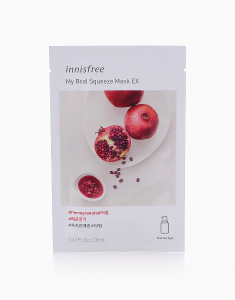 My Real Squeeze Pomegranate Mask EX by Innisfree