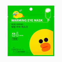 Mediheal x line friends warming eye masks  sally chick citrus grapefruit