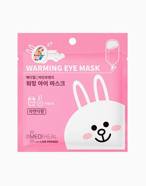 Mediheal X Line Friends Warming Eye Masks (Cony Rabbit - Lavender) by Mediheal