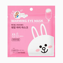 Mediheal x line friends warming eye masks  cony rabbit lavender