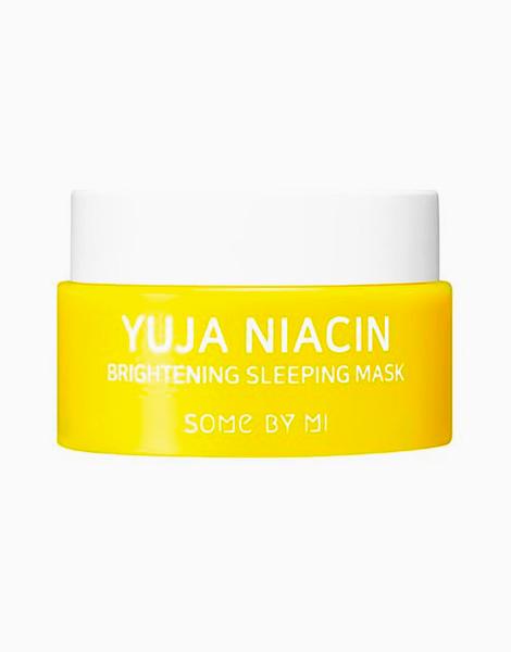 Yuja Niacin 30 Days Miracle Brightening Sleeping Mask Mini (15g) by Some By Mi