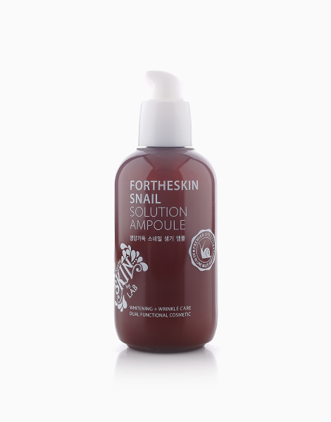 Snail Solution Ampoule by Fortheskin
