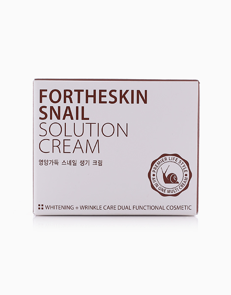 Snail Solution Cream by Fortheskin