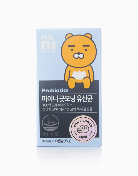 Probiotics (10 Billion, 30 Capsules) by My.Ni Selfcare
