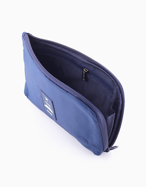 Travel Gadget Pouch by The Closet Space Savers Company | Navy Blue