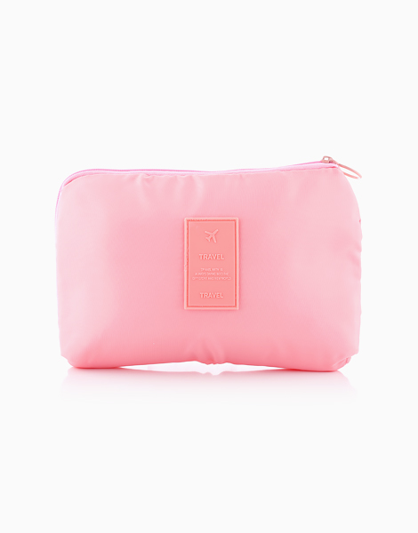 Travel Gadget Pouch by The Closet Space Savers Company | Pink