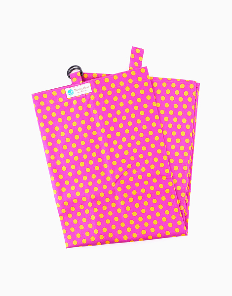 Nursing Cover by Next9 | Orange and Pink Polka Dot