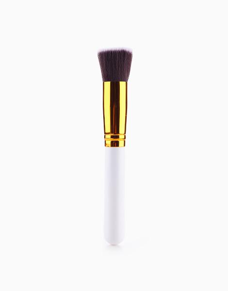 Basic Flat Top Foundation Brush by Mermaid Dreams | White
