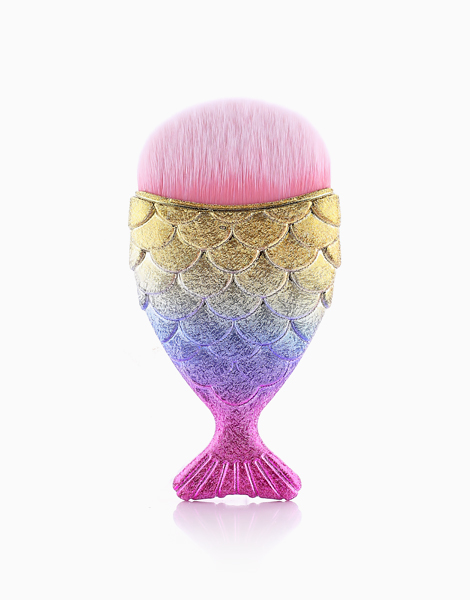 Multipurpose Mermaid Brush with Cover by Mermaid Dreams | Rainbow Glitter