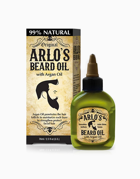 Arlo's Beard Oil Argan Oil (2.5oz)  by Arlo's Men Care