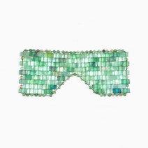 Crystal beauty aventurine eye mask