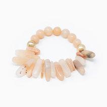 Stones for the soul light red jasper natural gemstone bracelet