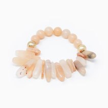 Light Red Jasper Natural Gemstone Bracelet by Stones for the Soul