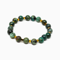 Metamorphosis African Turquoise Crystal Bracelet by The Calm Chakra