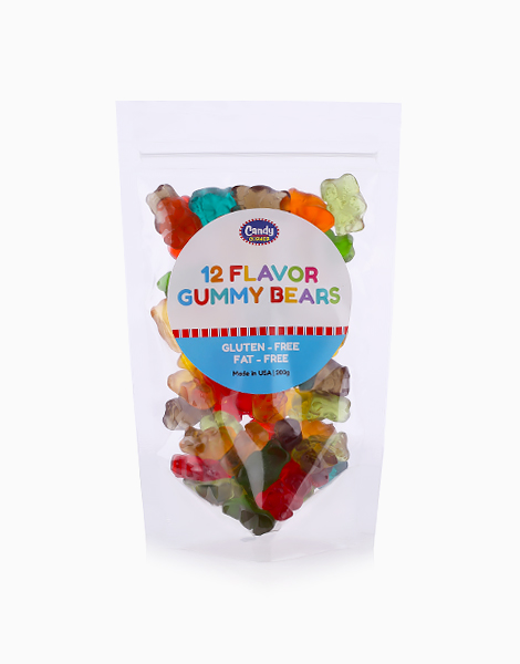 12 Flavor Gummy Bears (200g) by Candy Corner