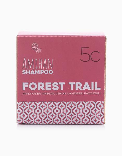Forest Trail Shampoo Bar (Apple Cider Vinegar, Lemon, Lavender Patchouli) by Amihan Organics