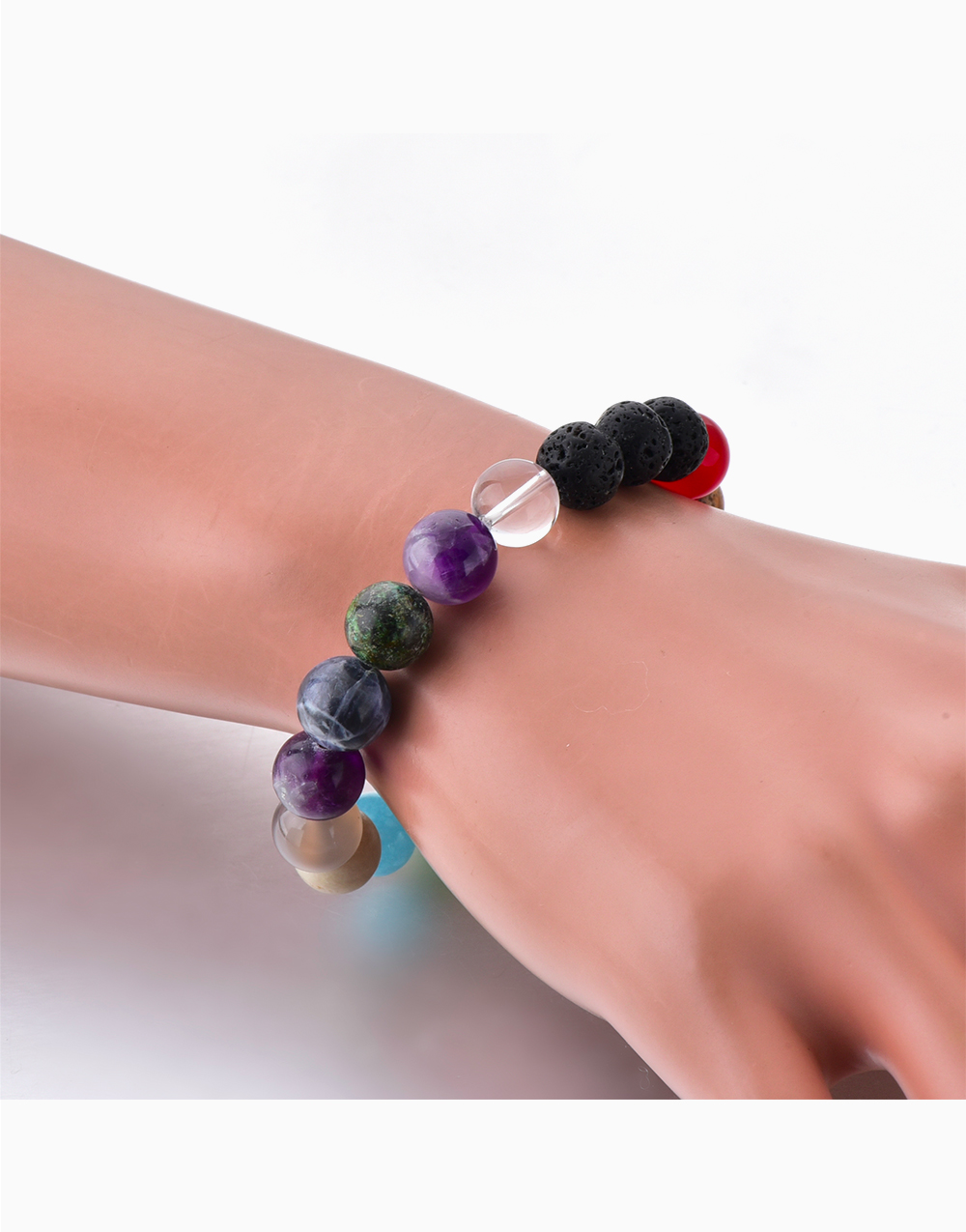 All In One Crystal Diffuser Bracelet by Stones for the Soul