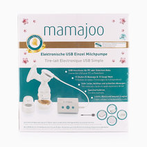 Electronic USB Single Breast Pump & PES Bottle by Mamajoo
