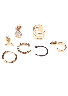 Joan (Gold Earring Set) by Aine