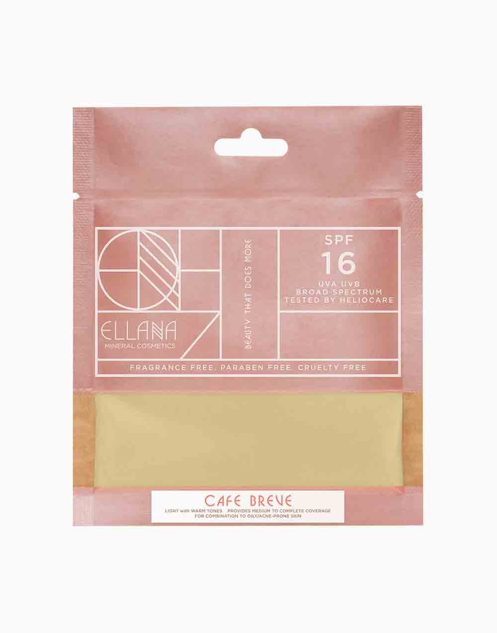 Loose Mineral Foundation Refill by Ellana Mineral Cosmetics   Café Breve
