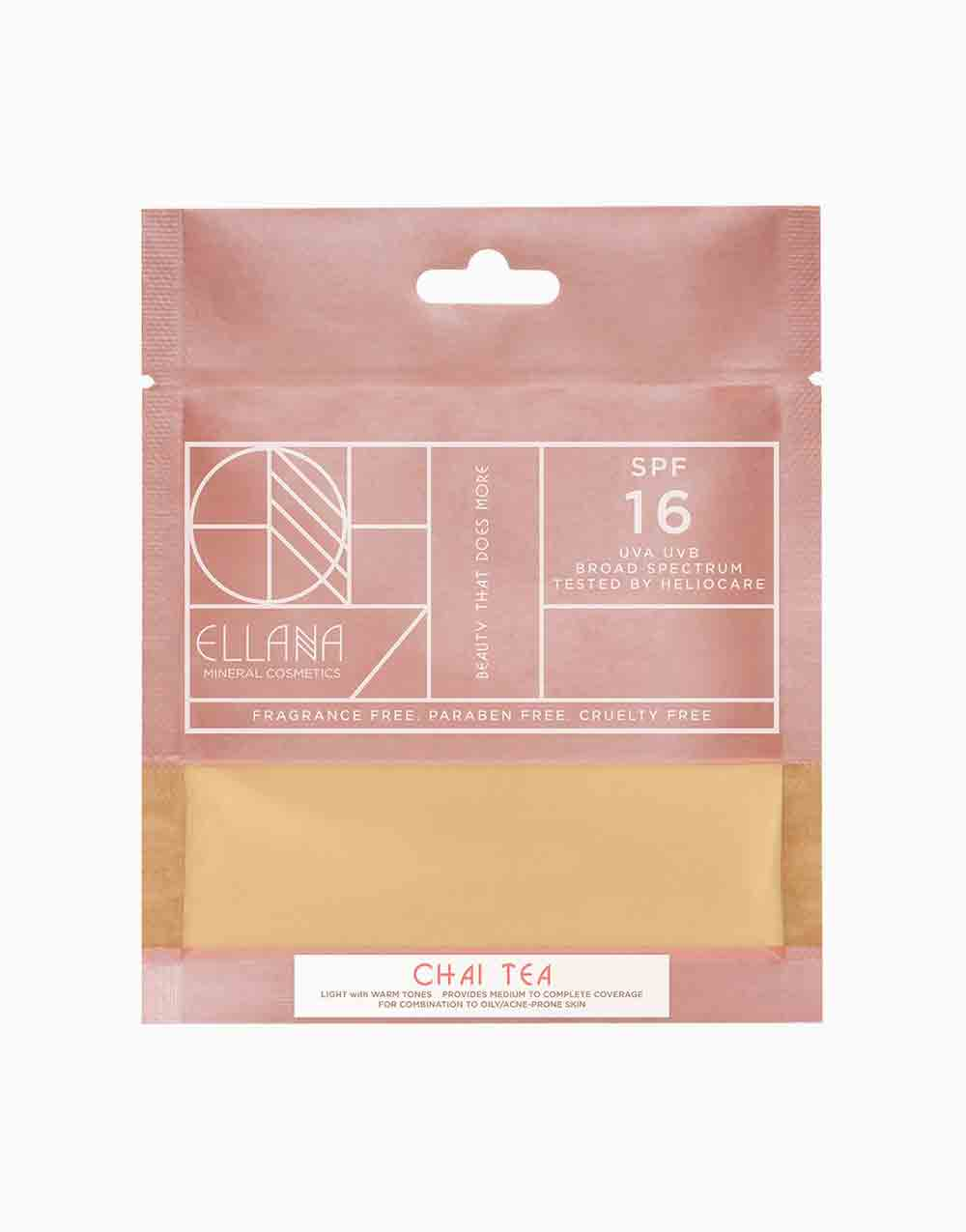 Loose Mineral Foundation Refill by Ellana Mineral Cosmetics | Chai Tea Latte