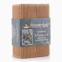 Seaweed & Peppermint Nourishing and Deodorizing Bar by Aromacology Sensi