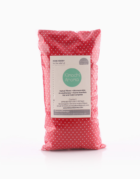 Medium Herbal Pillow (6x8 inches) by Kimochi Aroma | Polka