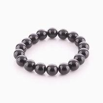 Black Tourmaline Bracelet (10mm Bead Size) by Cosmos MNL
