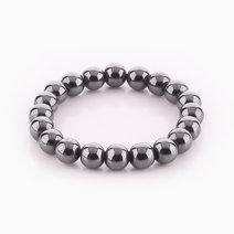 Hematite Bracelet (10mm Bead Size) by Cosmos MNL