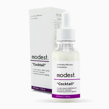 Modest. cocktail serum